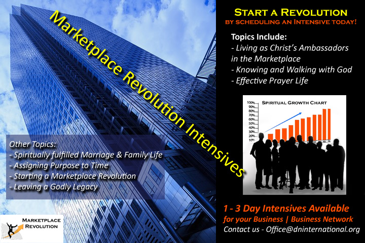 Marketplace Revolution Intensives